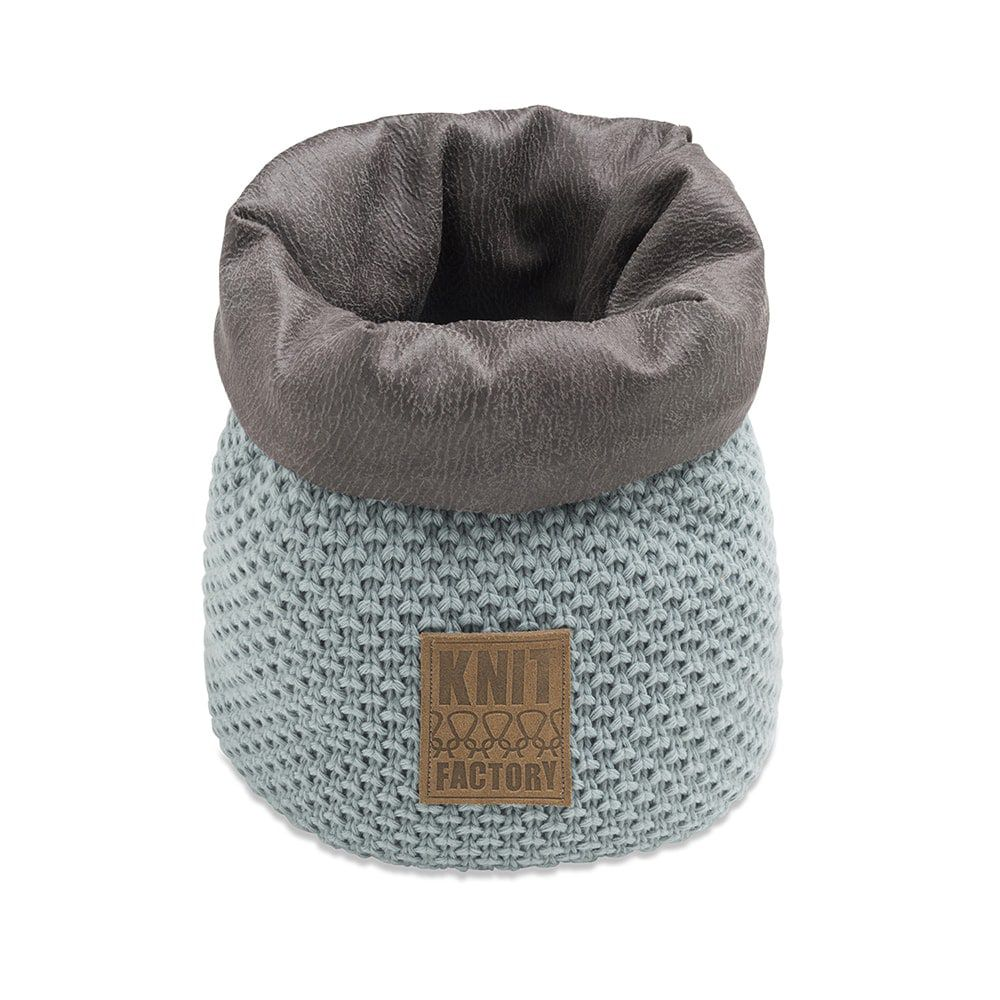 knit factory 1182209 mand klein lynn stone green