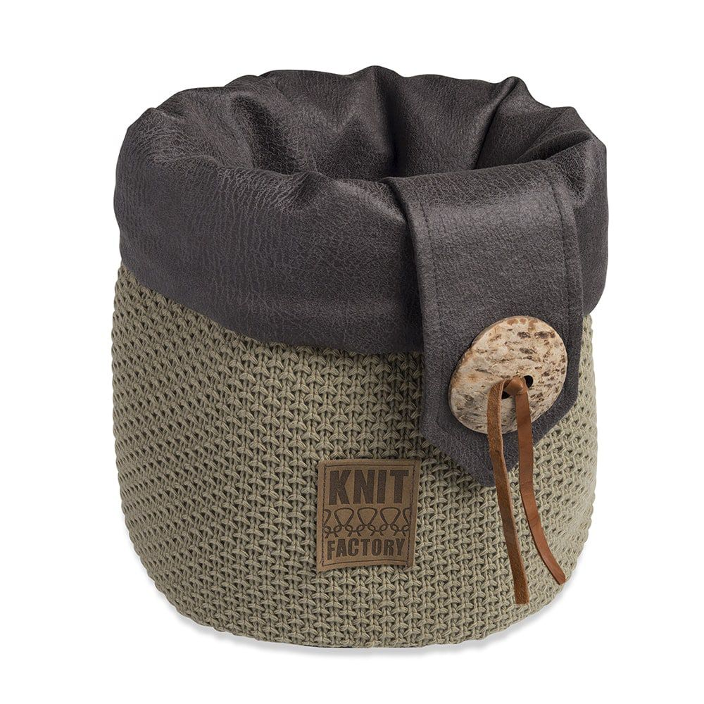 knit factory 1182333 mand groot lynn olive