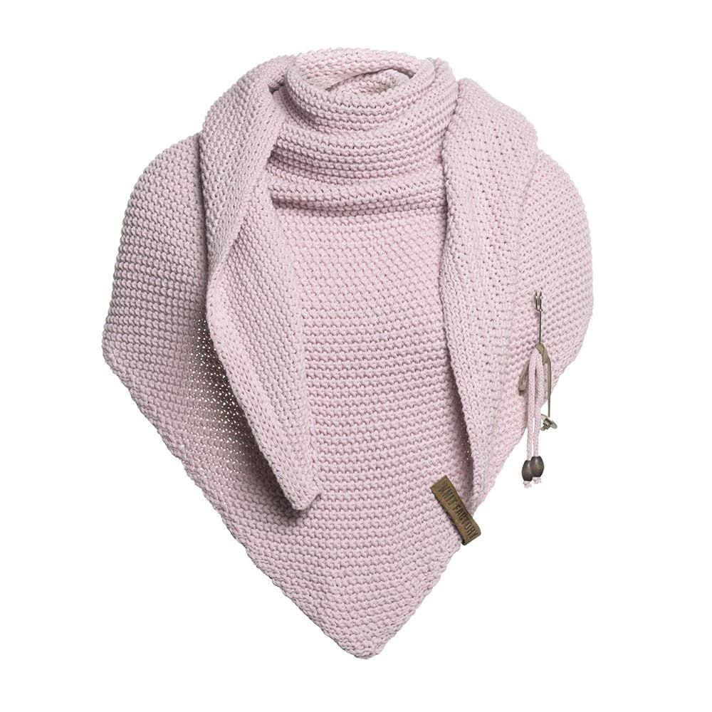 knit factory 1206021 coco omslagdoek roze 1
