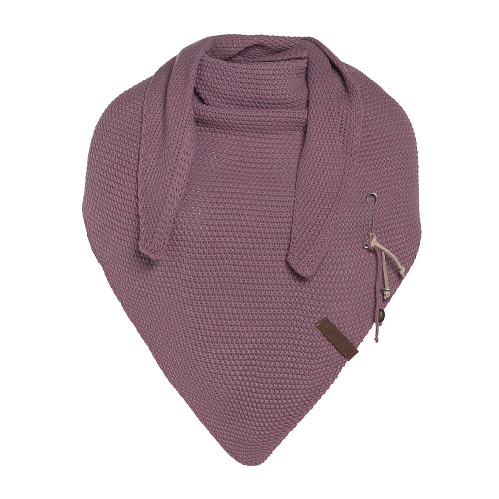 knit factory 1206027 coco omslagdoek lila 1