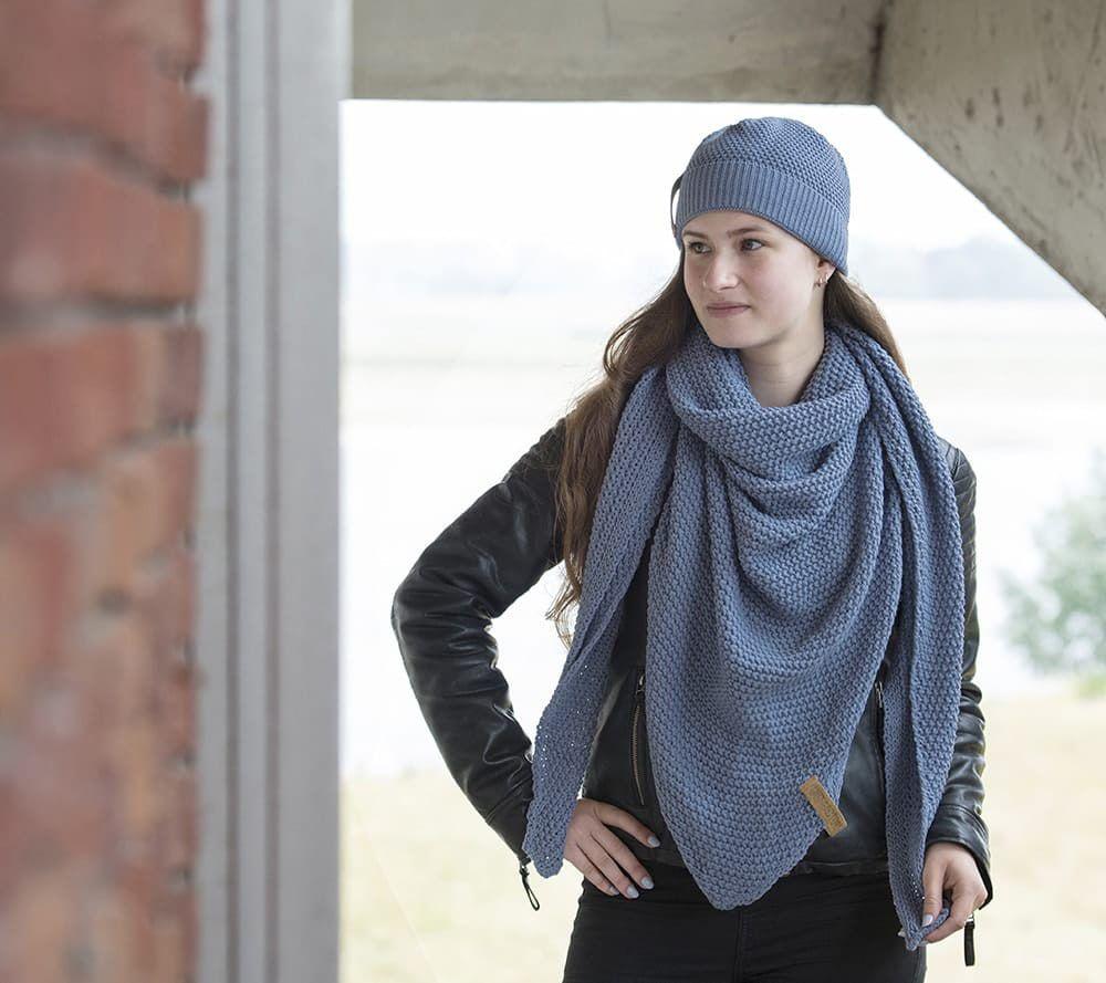 knit factory 1206032 coco omslagdoek indigo 3