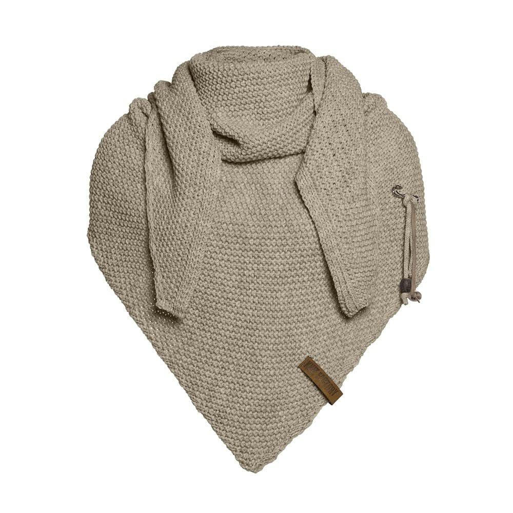 knit factory 1206033 coco omslagdoek olive 1