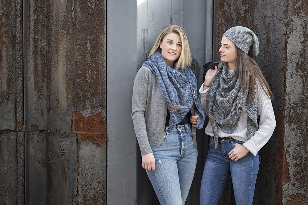 knit factory 1206050 coco omslagdoek antraciet grijs 3