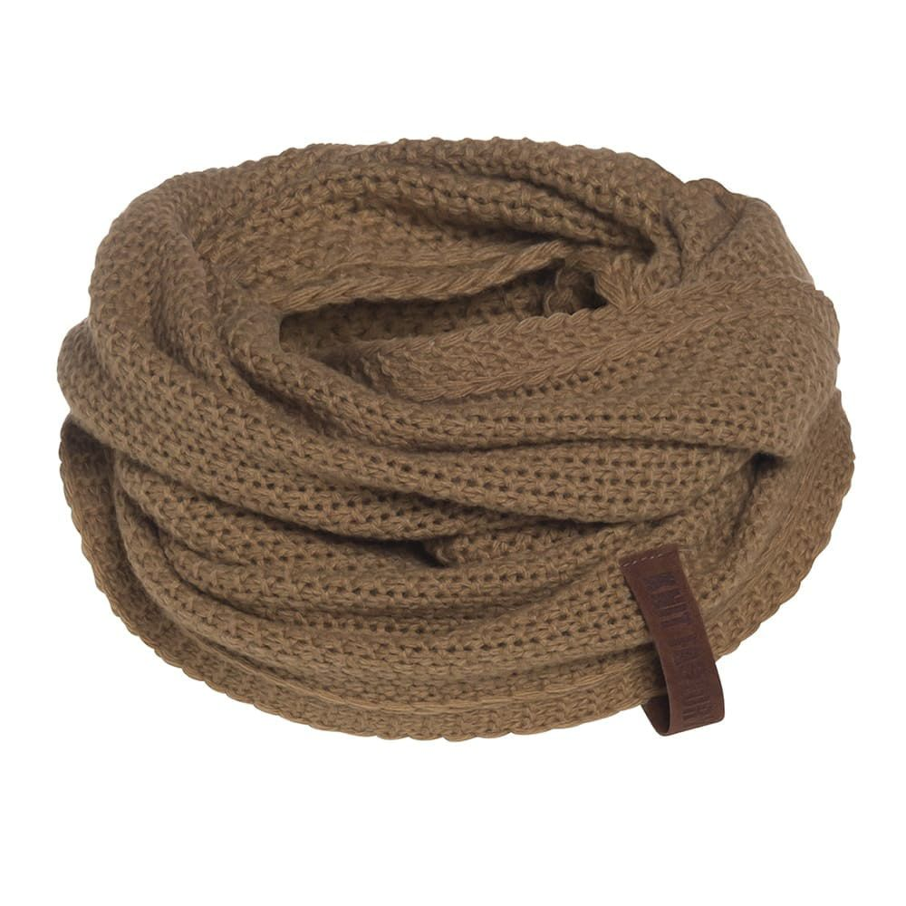 knit factory 1206620 coco colsjaal new camel 1
