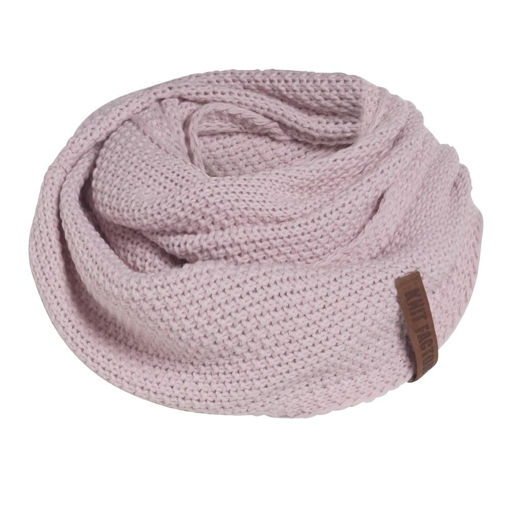 knit factory 1206621 coco colsjaal roze 1