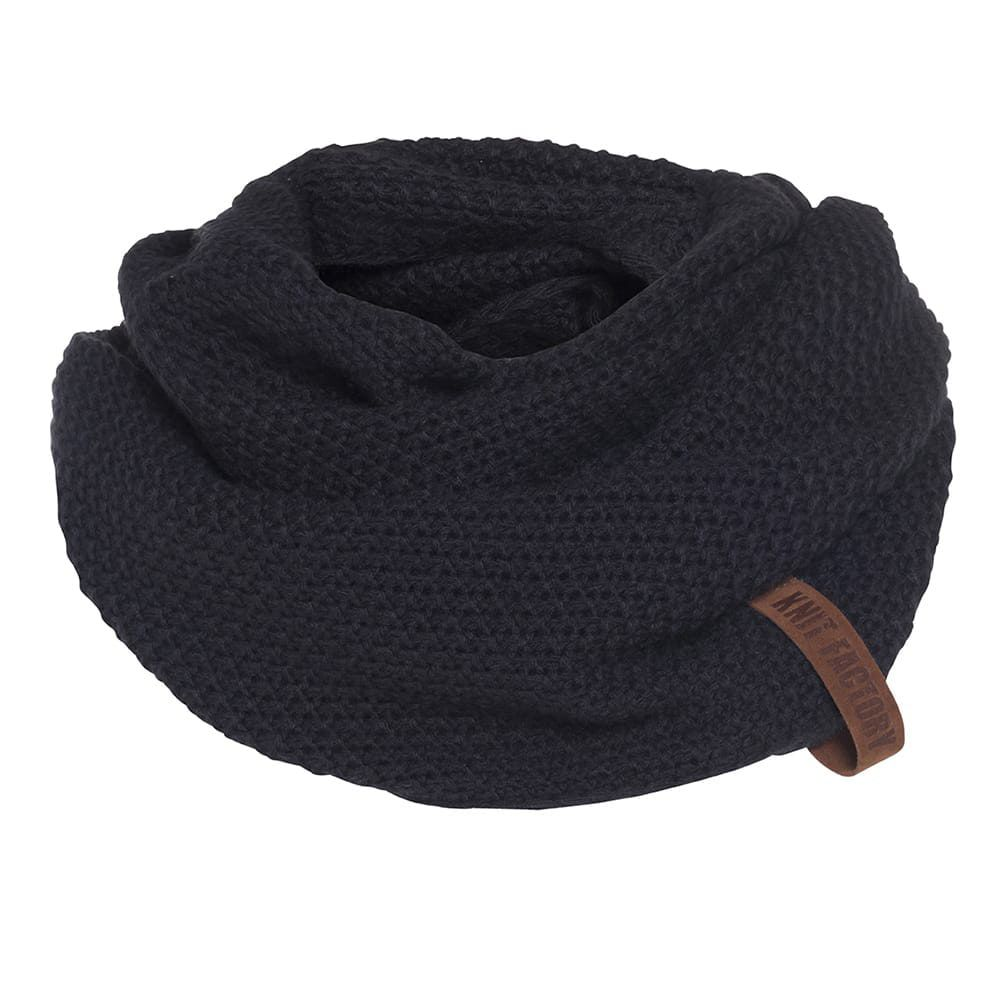 knit factory 1206626 coco colsjaal navy 1