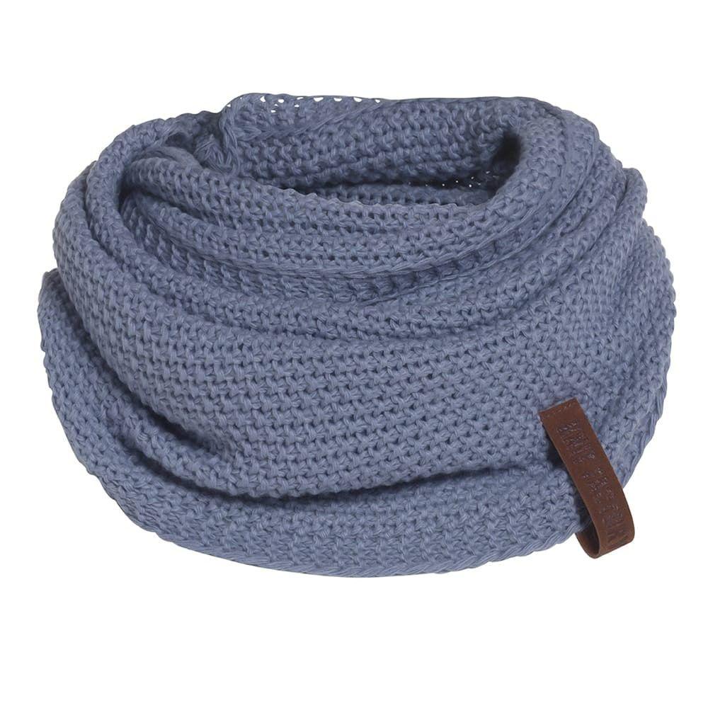 knit factory 1206632 coco colsjaal indigo 1