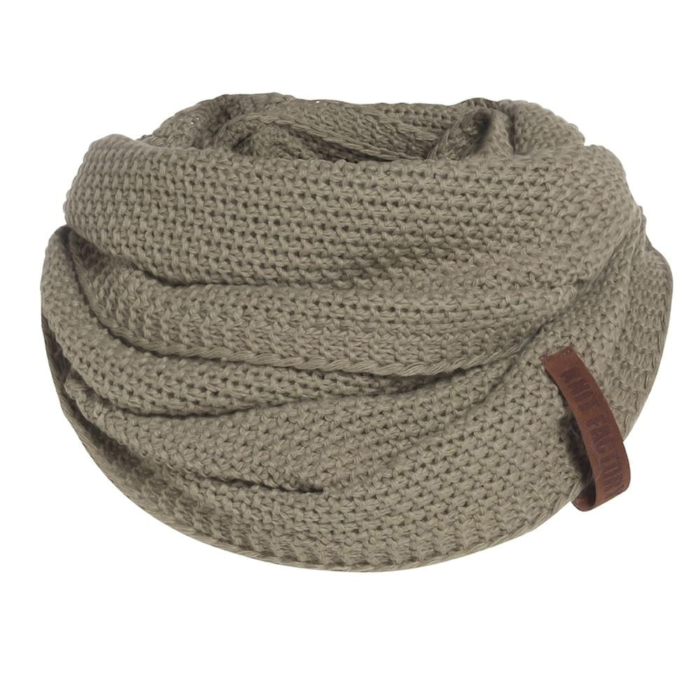 knit factory 1206633 coco colsjaal olive 1