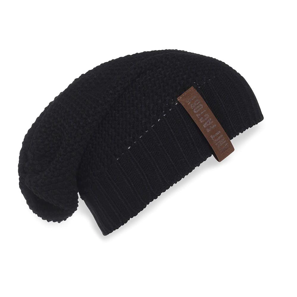 knit factory 1207000 coco beanie zwart 1