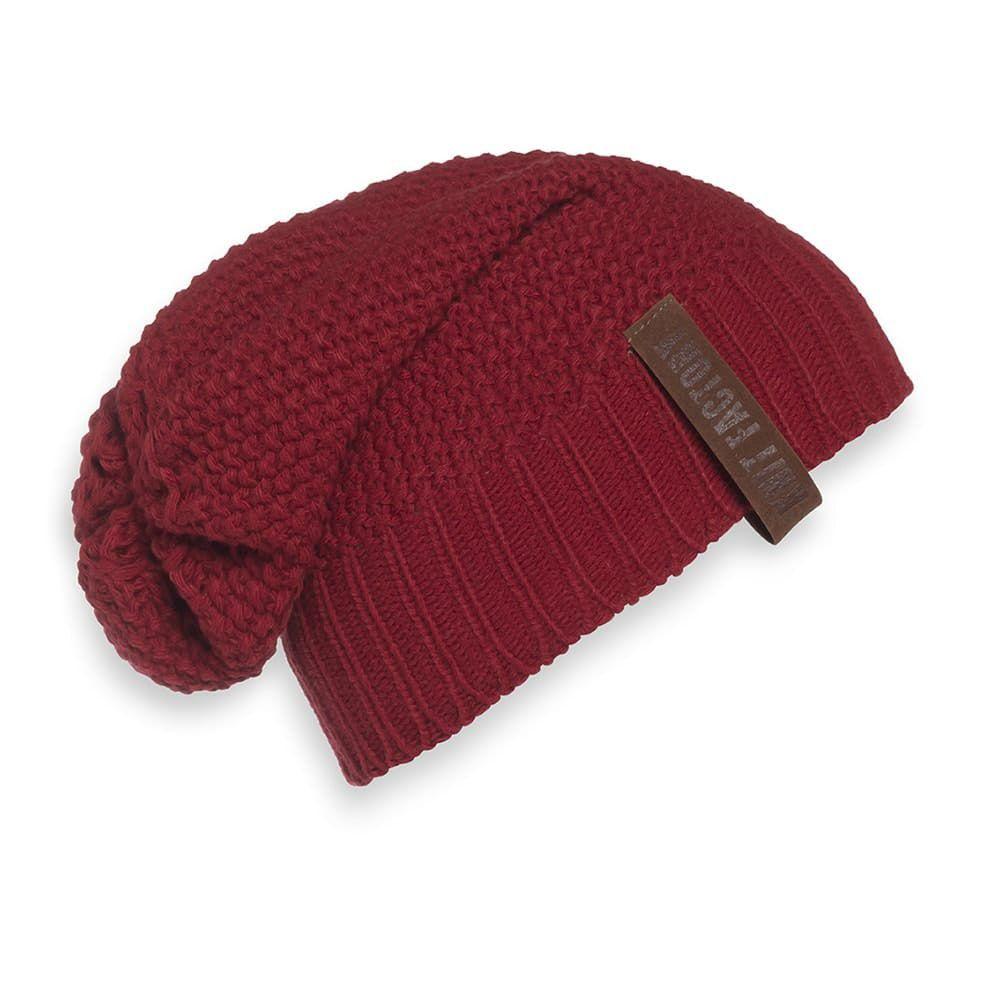knit factory 1207003 coco beanie bordeaux 1