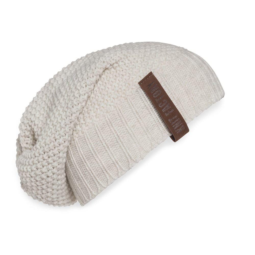 knit factory 1207012 coco beanie beige 1