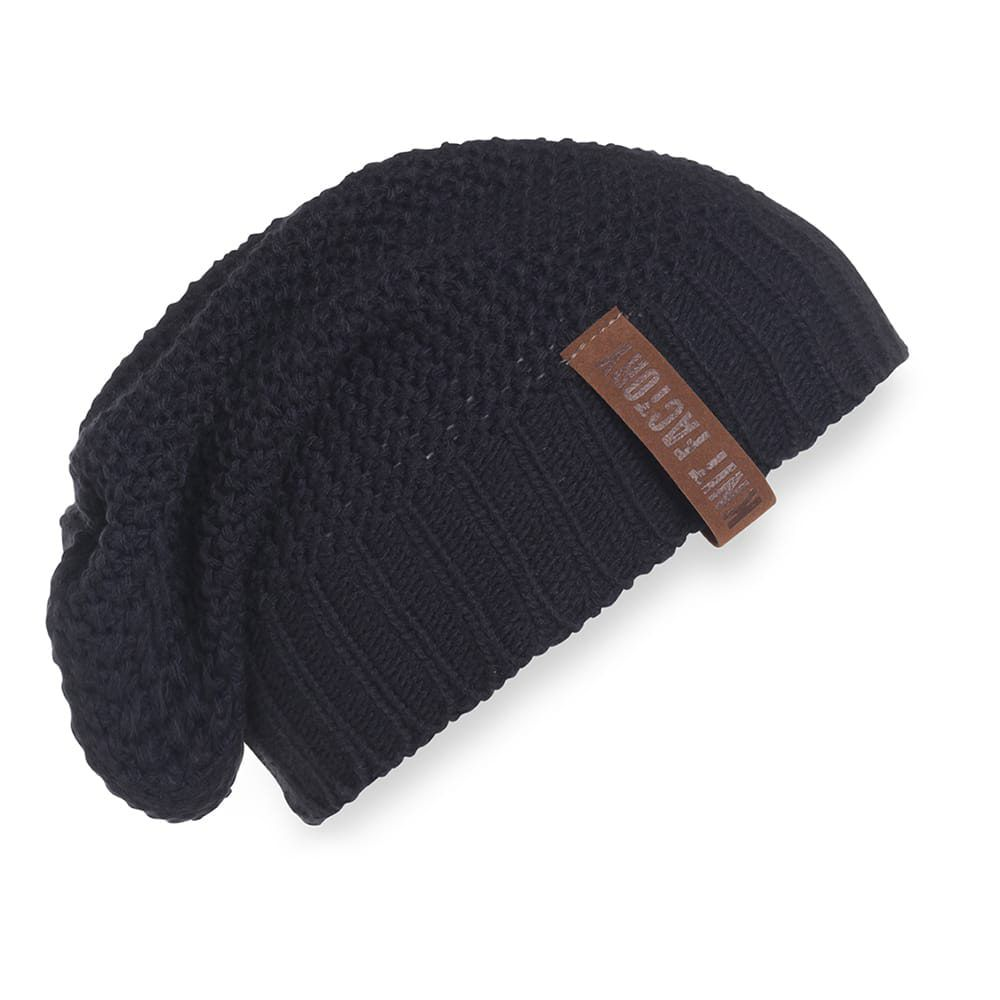 knit factory 1207026 coco beanie navy 1