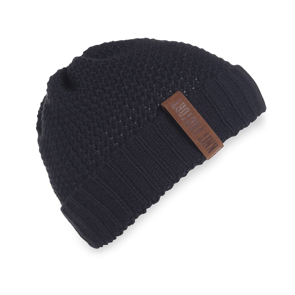 knit factory 1207026 coco beanie navy 2