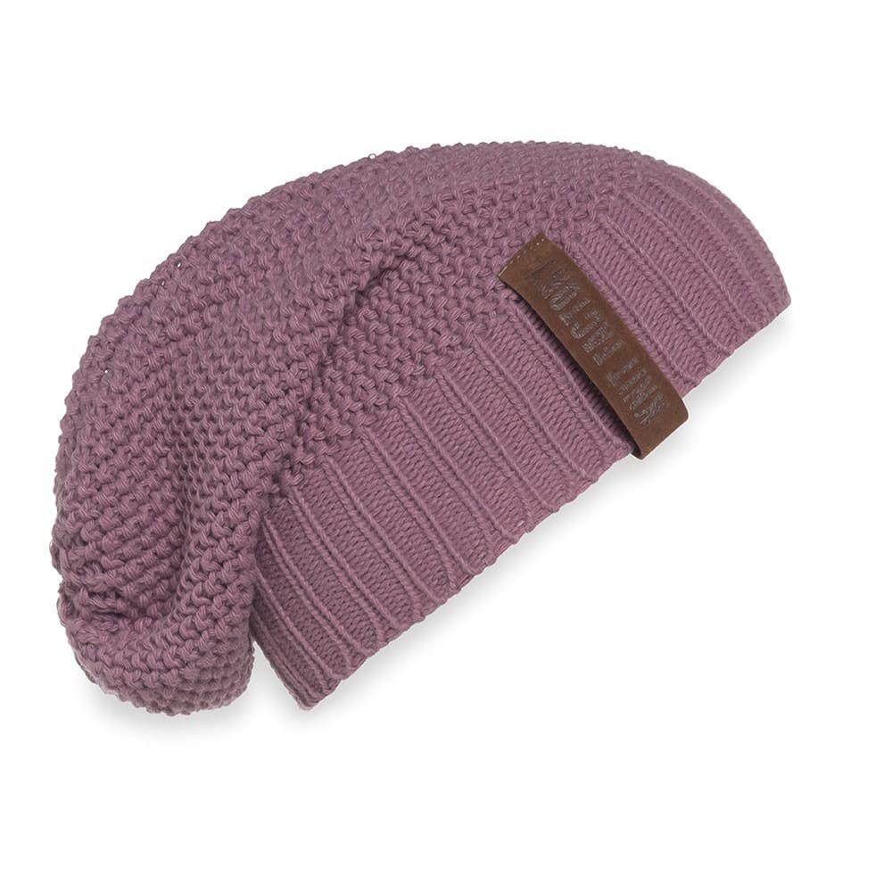 knit factory 1207027 coco beanie lila 1