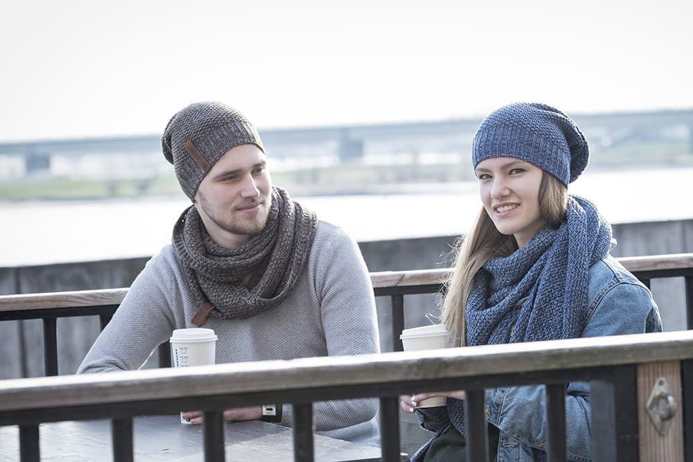 knit factory 1207054 coco beanie jeans indigo 3