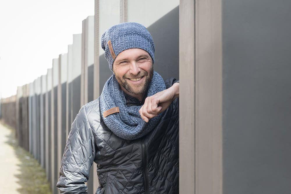 knit factory 1207054 coco beanie jeans indigo 5