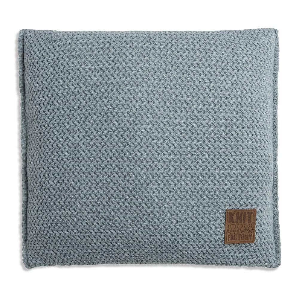 knit factory 1211209 kussen 50x50 maxx stone green 1