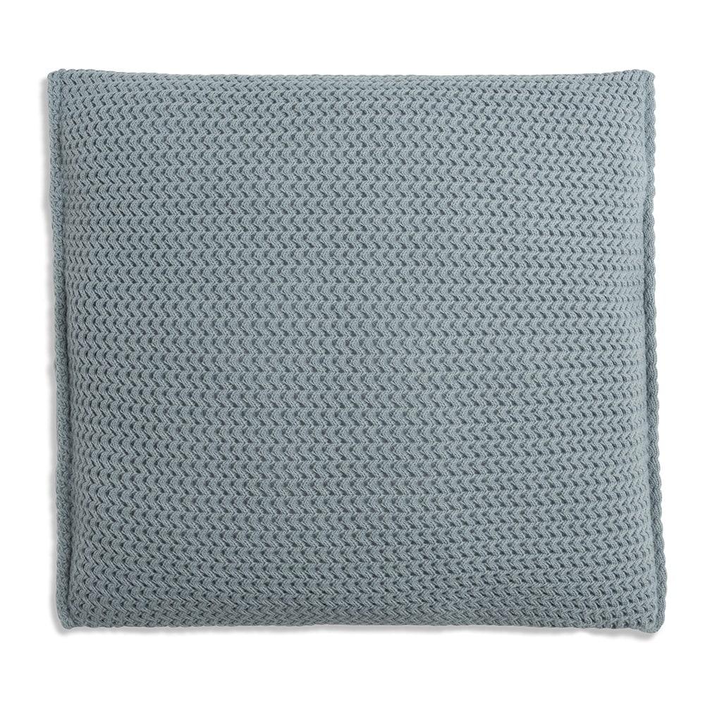 knit factory 1211209 kussen 50x50 maxx stone green 2