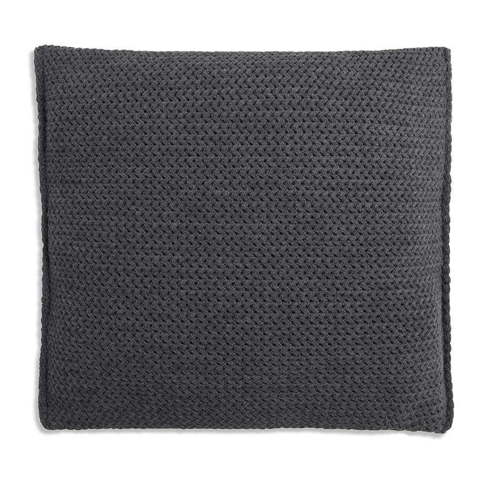 knit factory 1211210 kussen 50x50 maxx antraciet 2