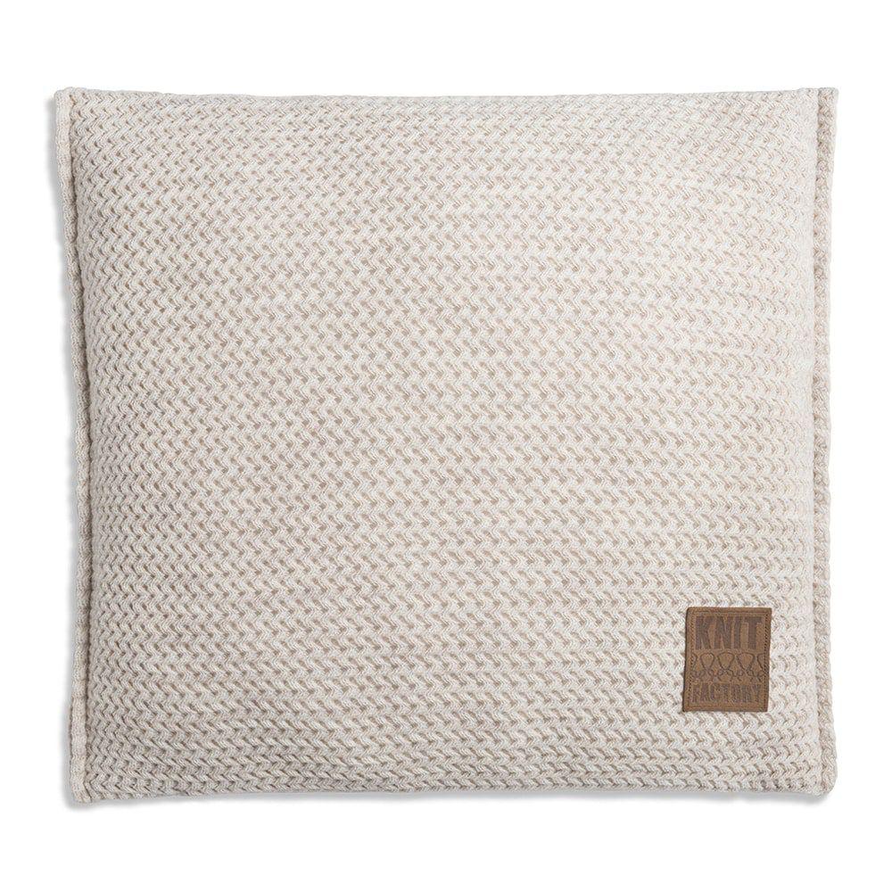 knit factory 1211212 kussen 50x50 maxx beige 1