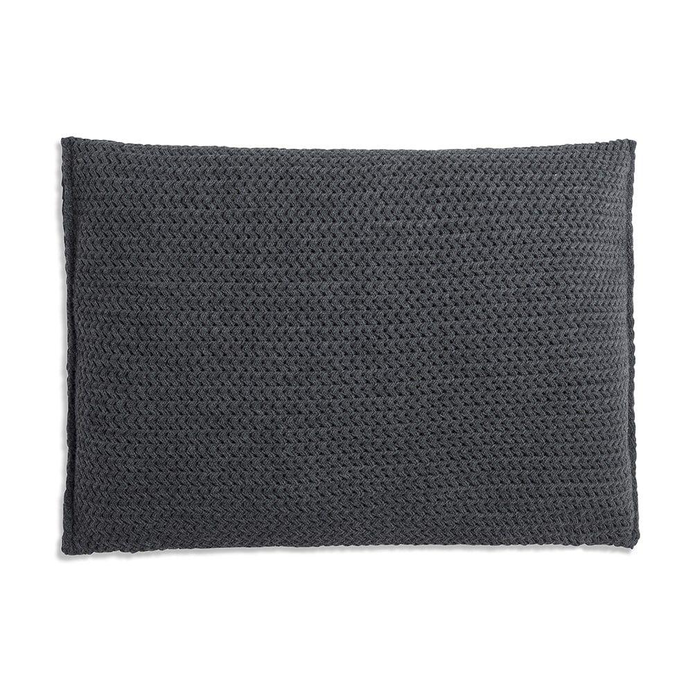 knit factory 1211310 kussen 60x40 maxx antraciet 2