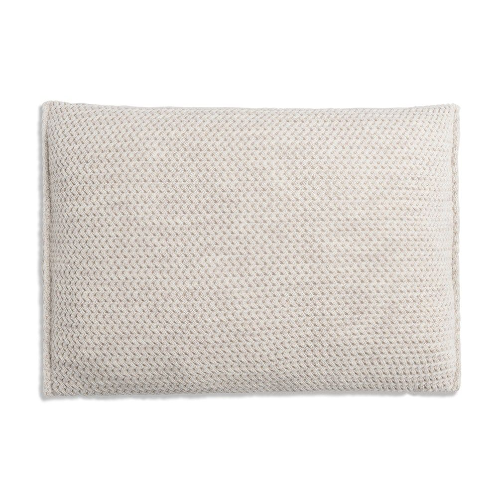 knit factory 1211312 kussen 60x40 maxx beige 2