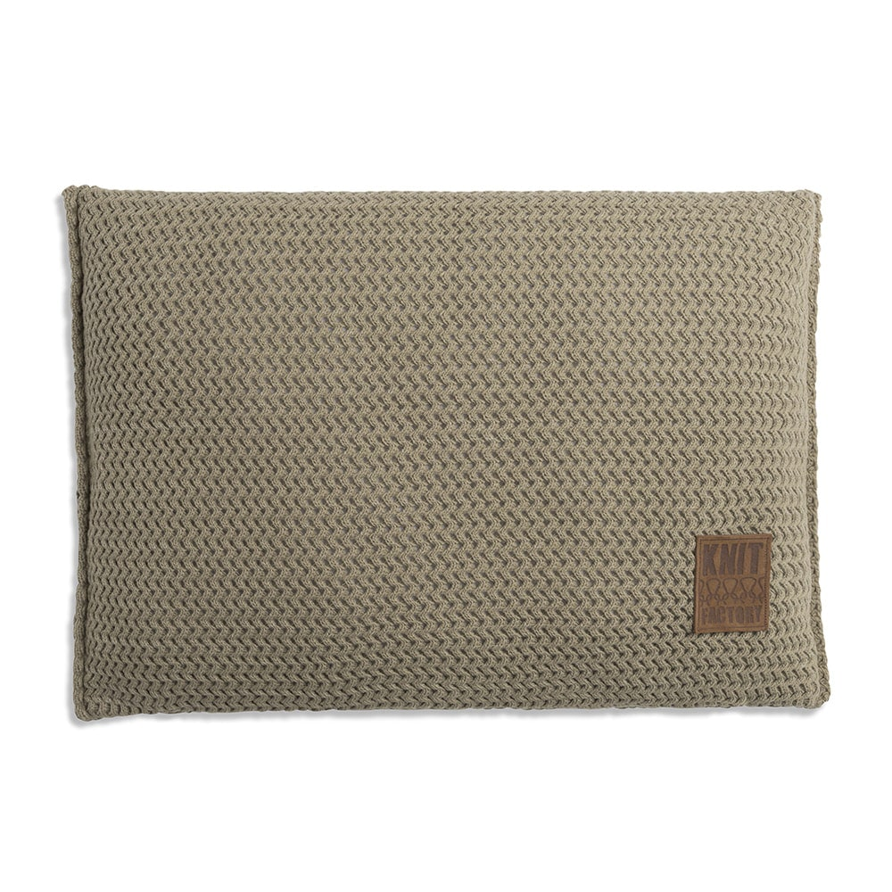 knit factory 1211333 kussen 60x40 maxx olive 1