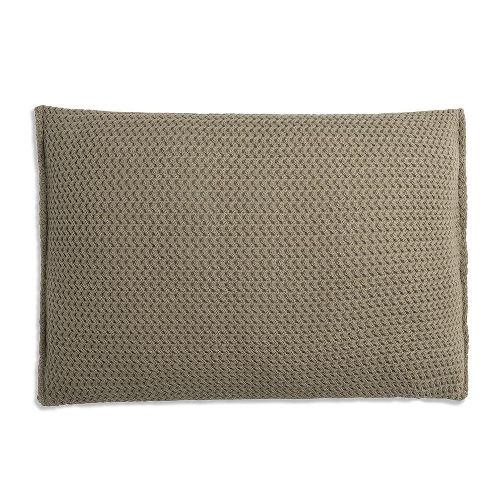 knit factory 1211333 kussen 60x40 maxx olive 2