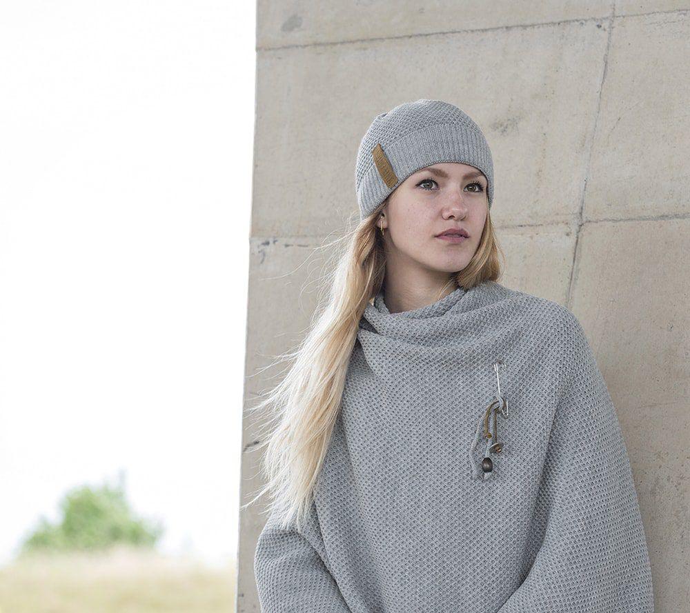 knit factory 1236111 jazz omslagvest licht grijs 5