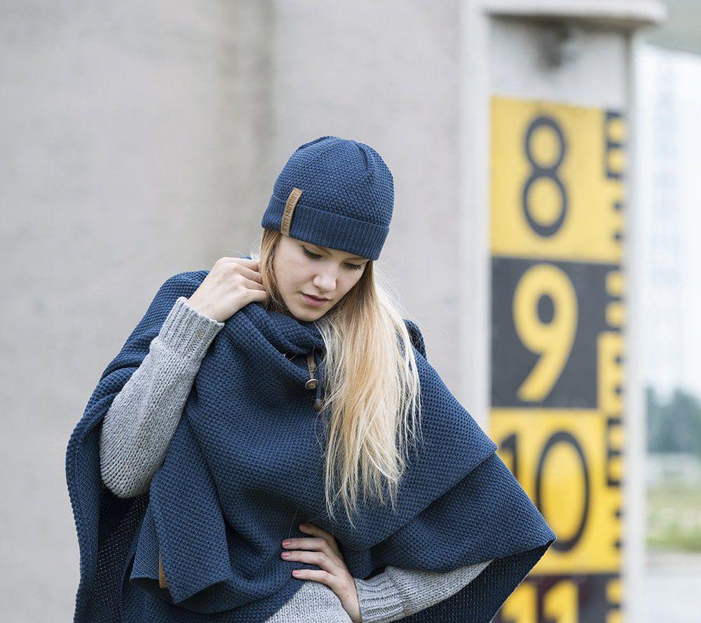 knit factory 1236113 jazz omslagvest jeans 6