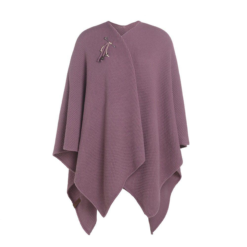 knit factory 1236127 jazz omslagvest lila 1