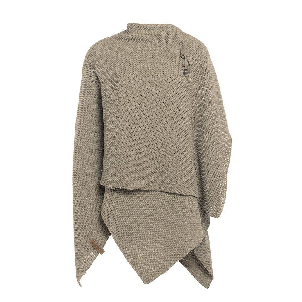 knit factory 1236133 jazz omslagvest olive 2