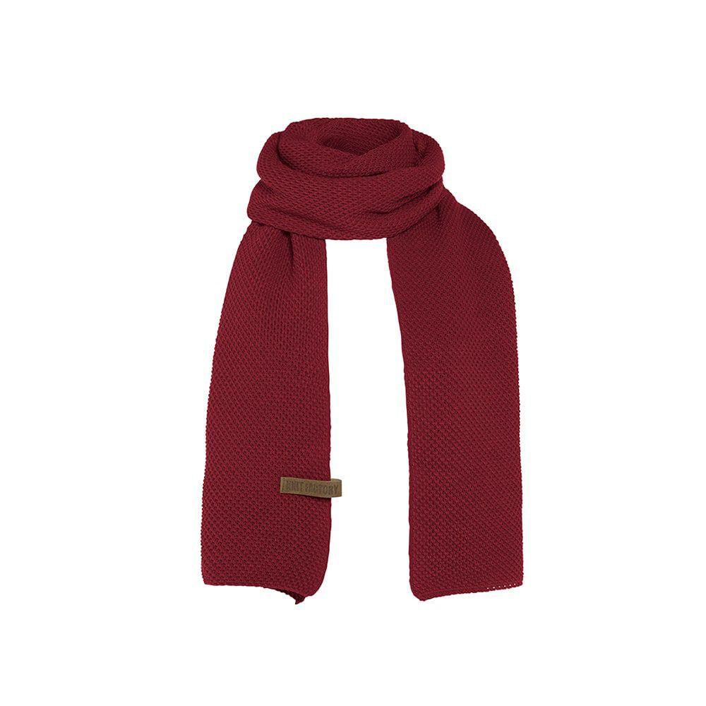 knit factory 1236503 jazz sjaal bordeaux 1