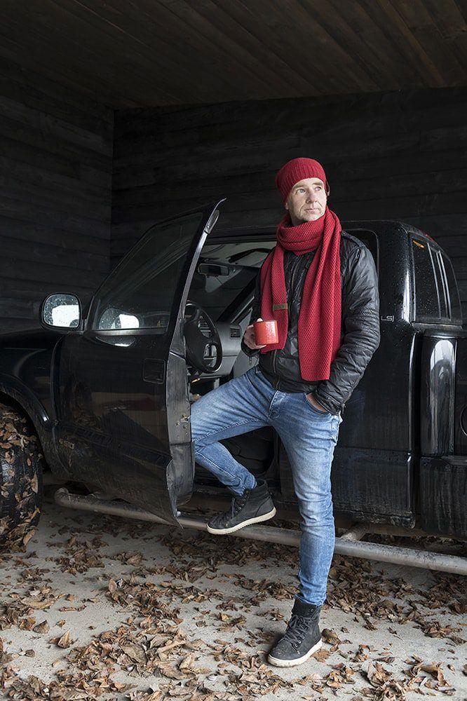 knit factory 1236503 jazz sjaal bordeaux 2