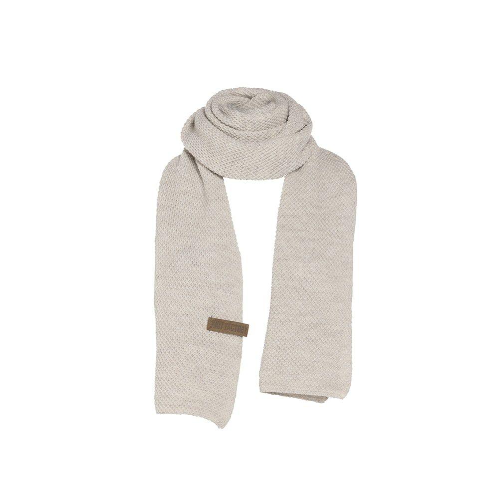 knit factory 1236512 jazz sjaal beige 1