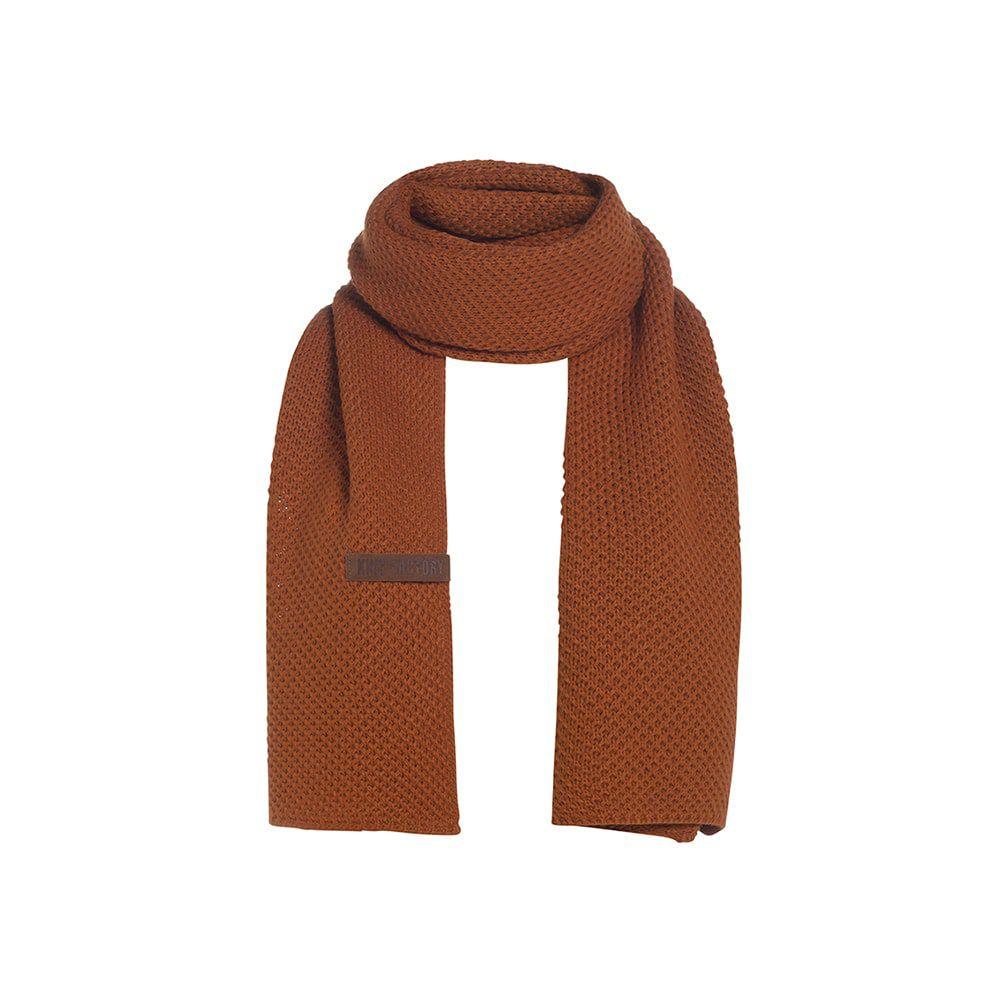 knit factory 1236516 jazz sjaal terra 1