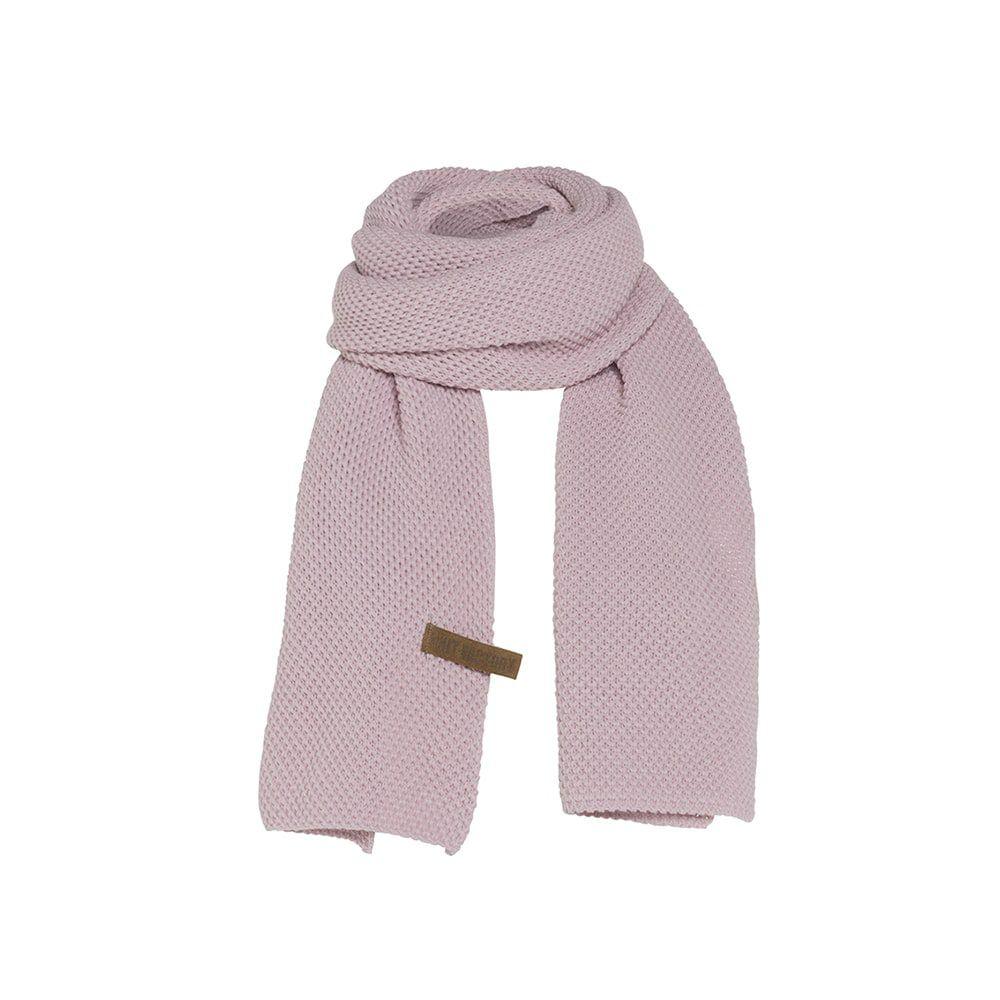 knit factory 1236521 jazz sjaal roze 1