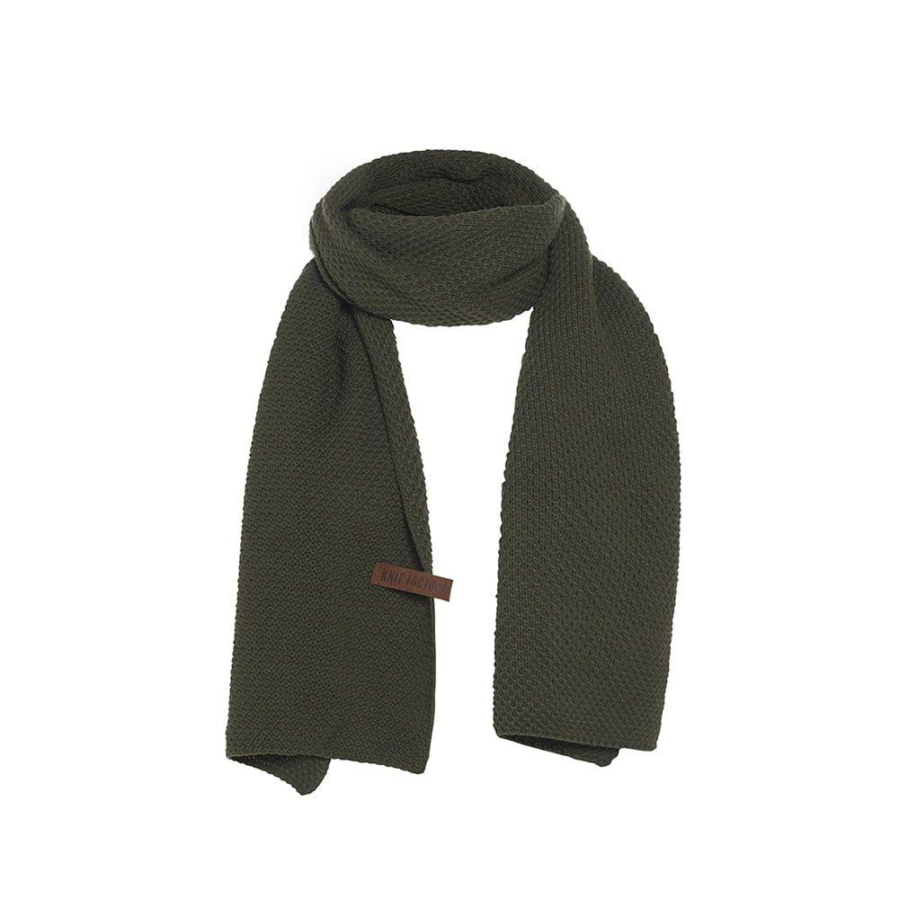 knit factory 1236525 jazz sjaal khaki 1