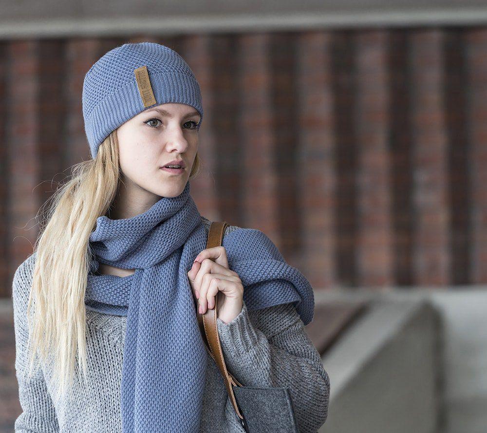knit factory 1236532 jazz sjaal indigo 2