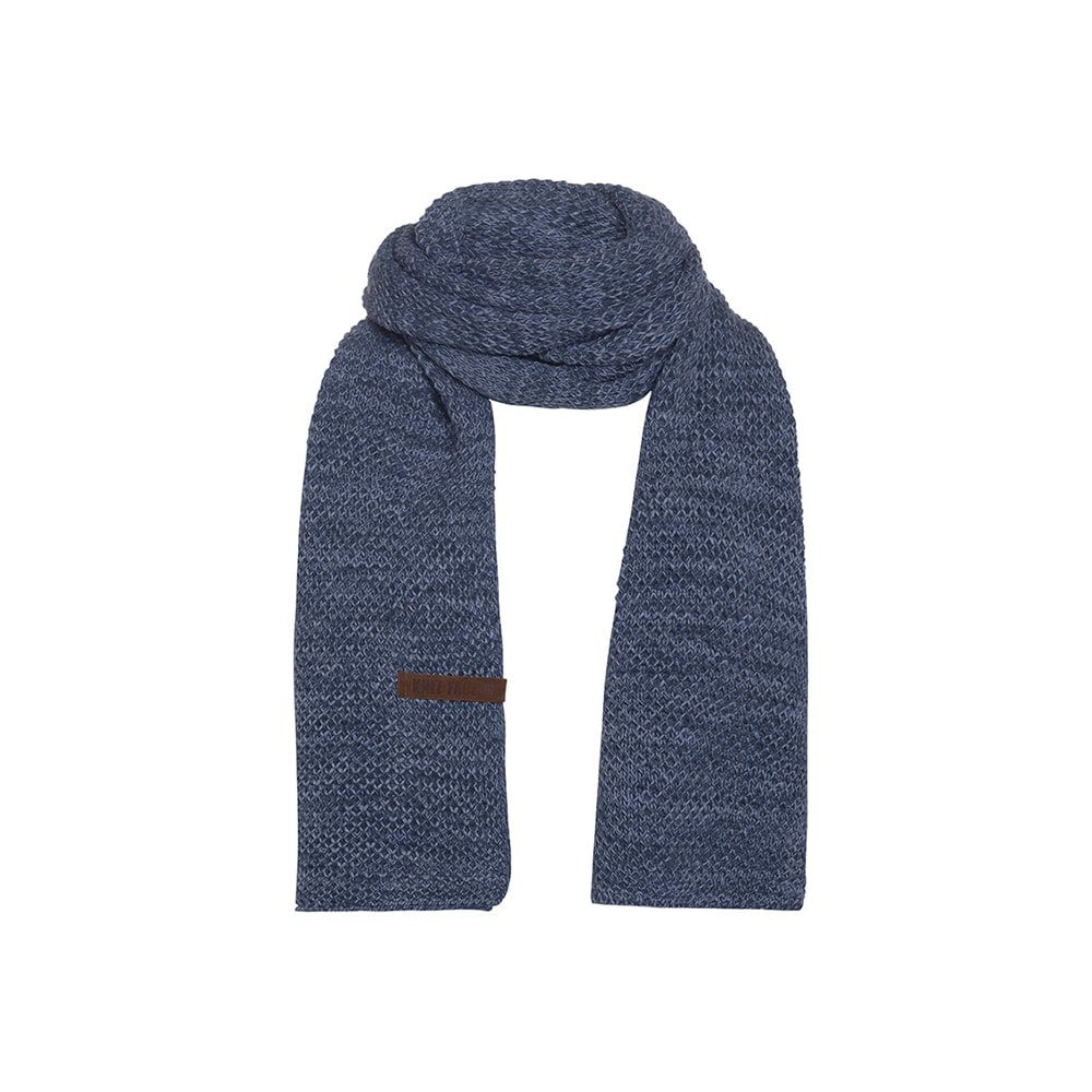 knit factory 1236554 jazz sjaal jeans indigo 1