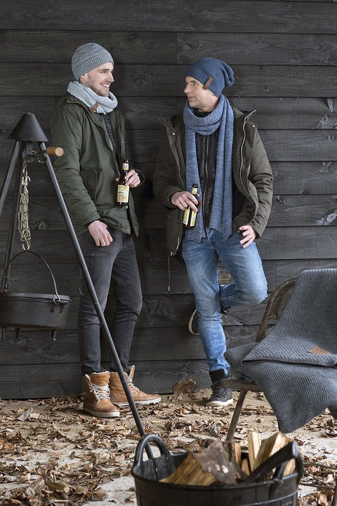 knit factory 1236554 jazz sjaal jeans indigo 3