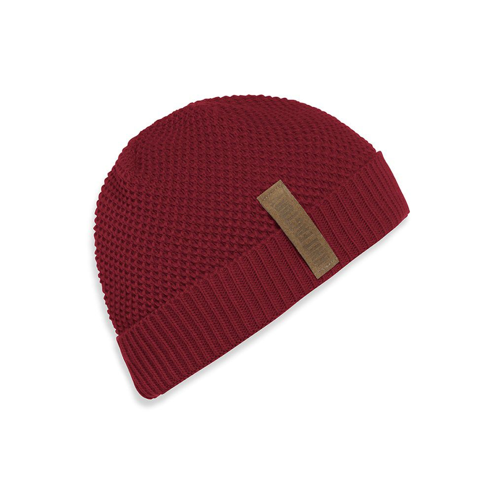 knit factory 1237003 jazz beanie bordeaux 1