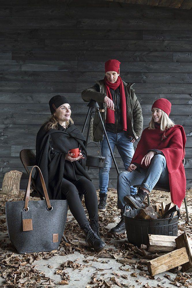 knit factory 1237003 jazz beanie bordeaux 2