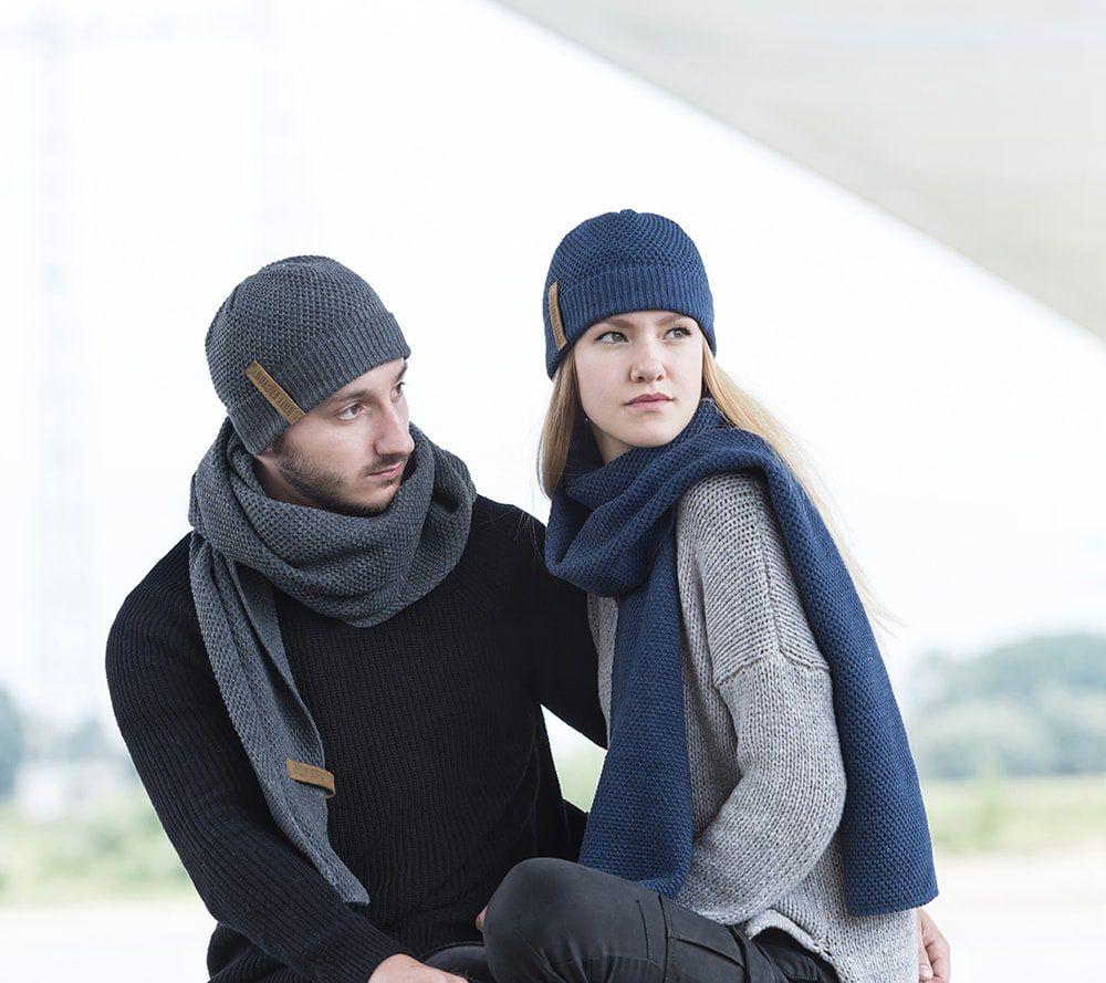 knit factory 1237010 jazz beanie antraciet 3