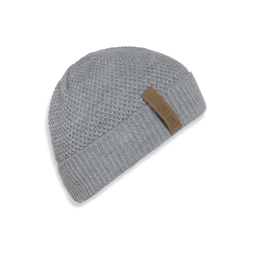 knit factory 1237011 jazz beanie grijs 1