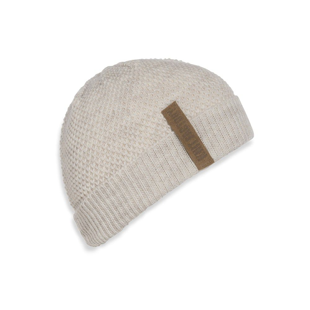 knit factory 1237012 jazz beanie beige 1