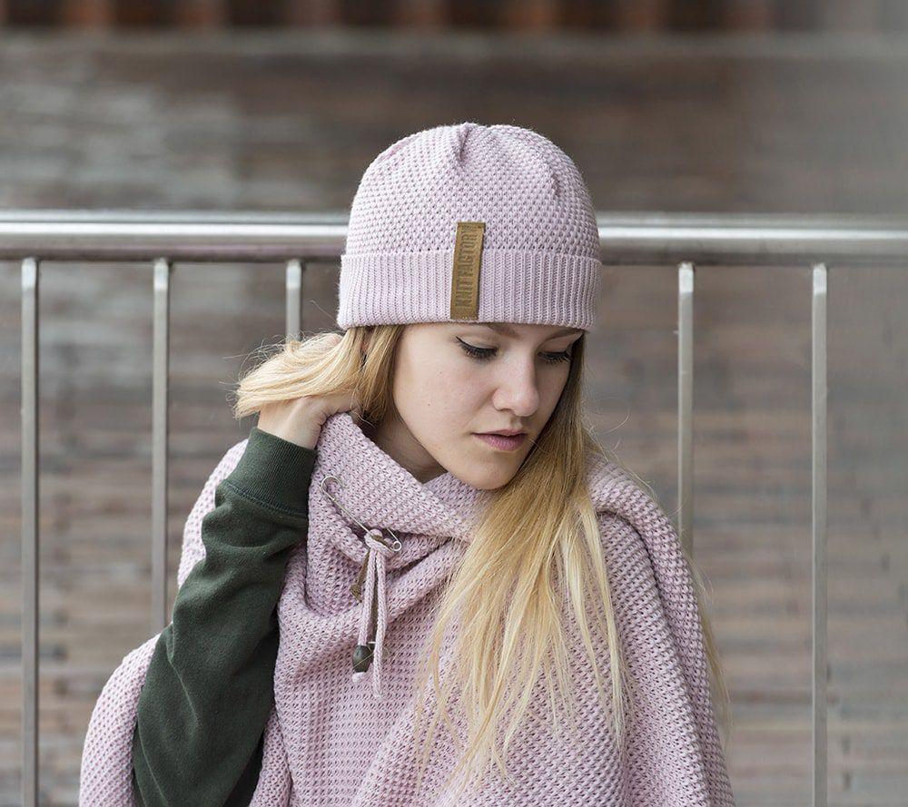 knit factory 1237021 jazz beanie roze 3
