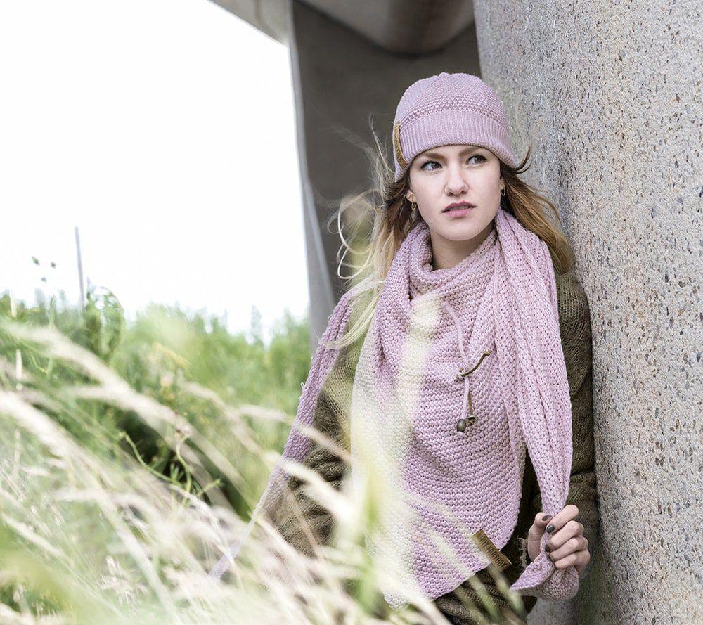 knit factory 1237021 jazz beanie roze 4