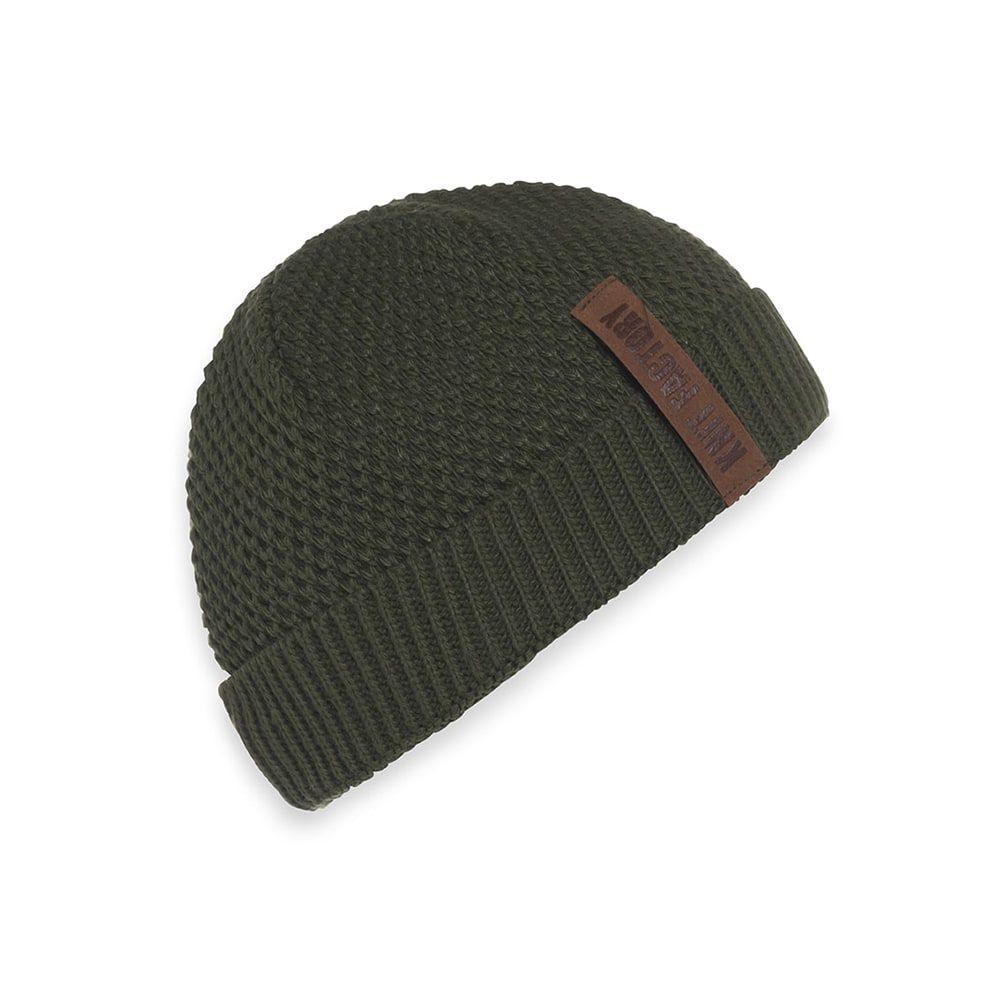 knit factory 1237025 jazz beanie khaki 1