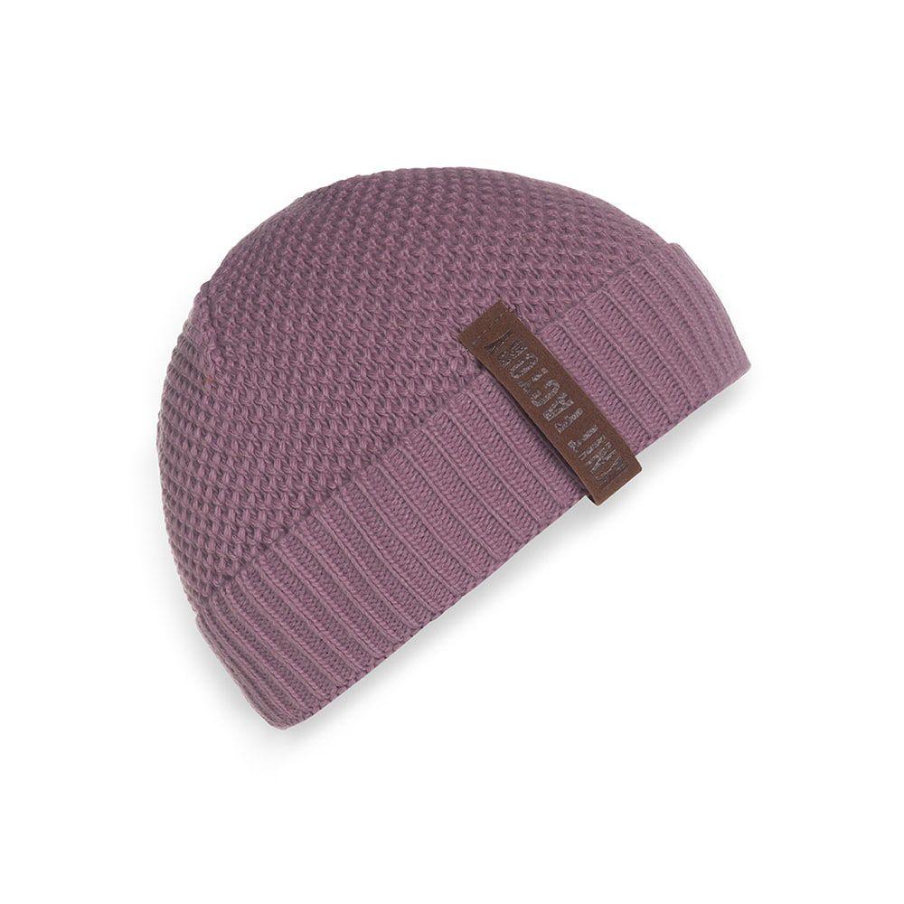 knit factory 1237027 jazz beanie lila 1